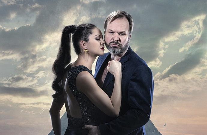 I. Vaňková a Petr Gazdík (Antonius a Kleopatra)