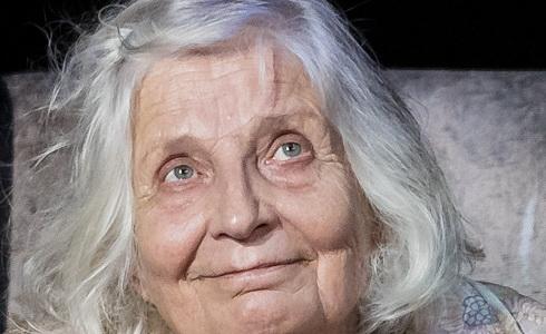 Marie Durnová na zkoušce (Foto:Jiří Jelínek).