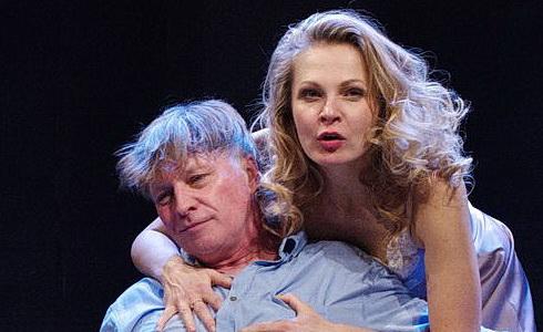 M. Dlouhý a M. Badinková (Scény z manželského života)