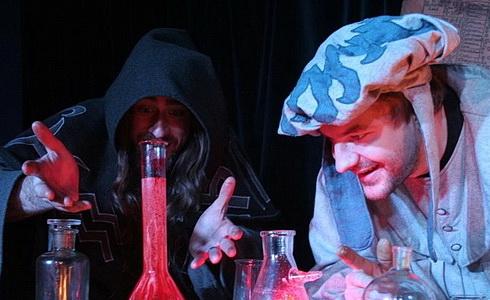 Oživlá laboratoř  (alchymistická show)
