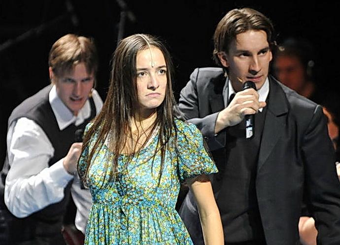 Svetlana Slováková v muzikálu Probuzení jara