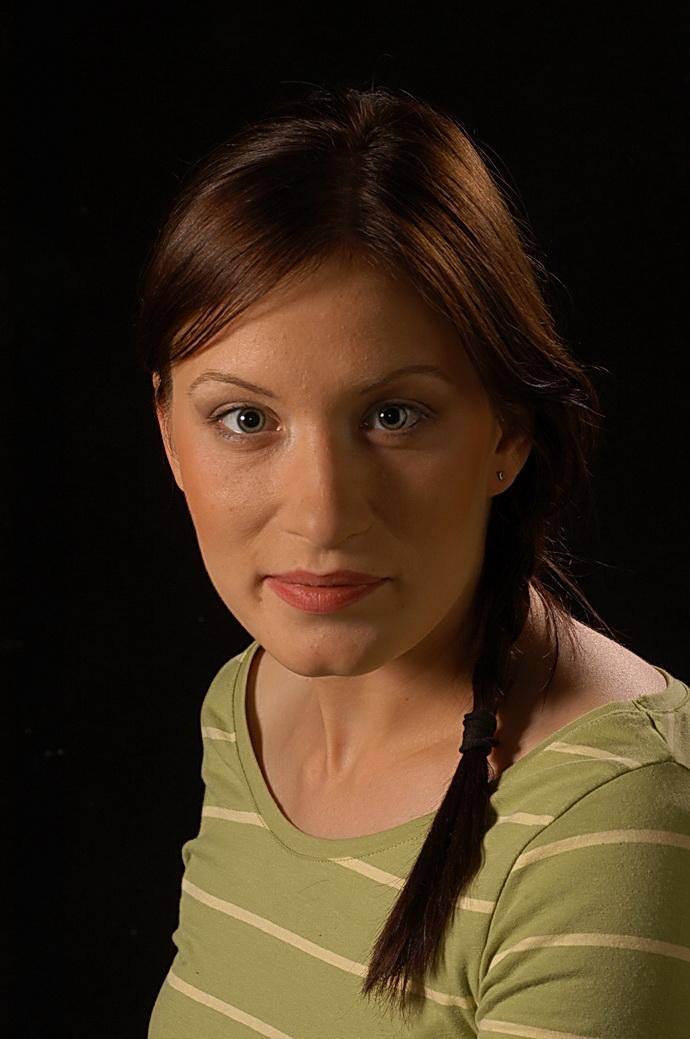 Herečka Helena Dvořáková