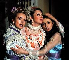 Z inscenace Tri sestry