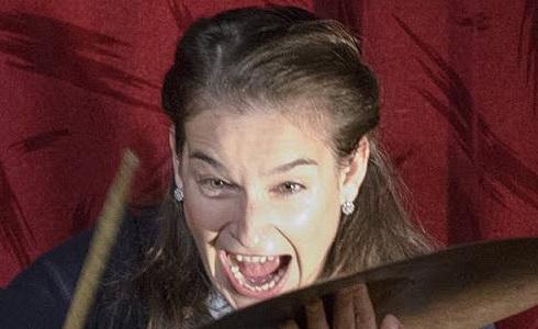 Lucia Korená v inscenaci Anna Franková