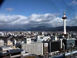 Japonské město Kyoto
