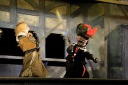 Z inscenace Tři mušketýři - Divadlo Alfa