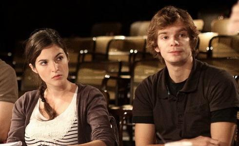 K. Podzimková a P. Buchta při čtené zkoušce – Špinavé ruce