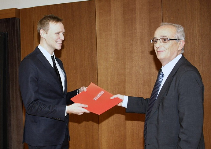 Daniel Špinar a Jan Burian