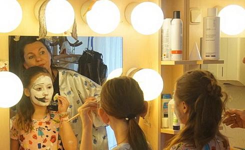 Workshop v maskérně
