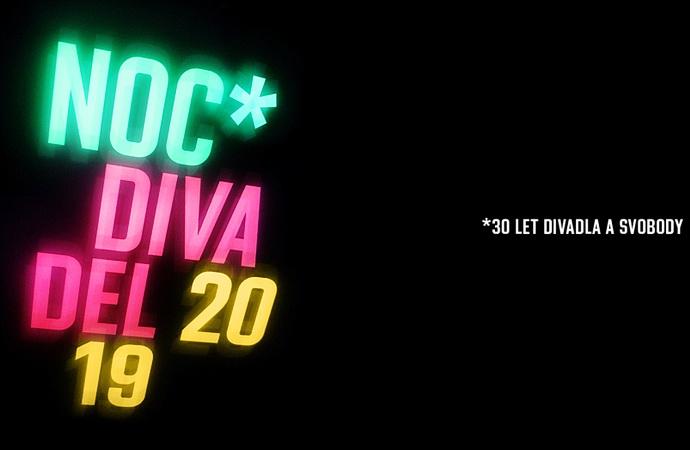 Noc divadel 2019 (logo 2019)
