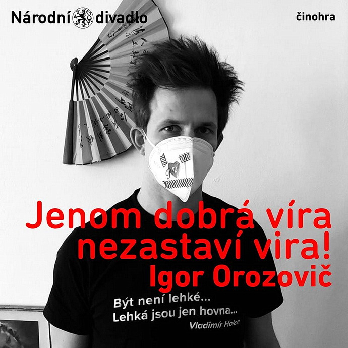 Herec činohry ND Igor Orozovič