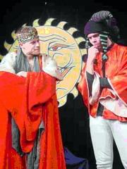 Král Václav kuje pikle se svým dvorním mágem Žitem