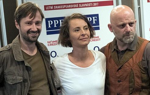 J. Plesl, L. Vlasáková a H. Čermák na TK