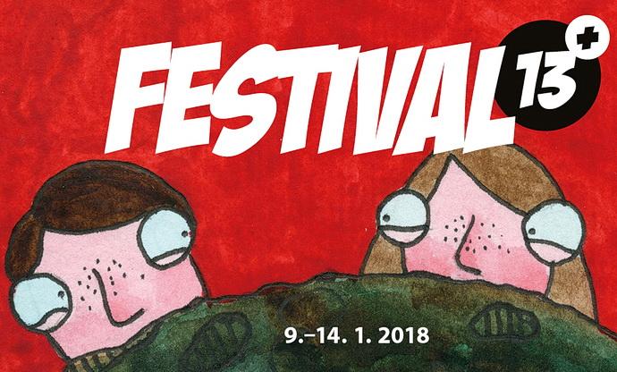 Plakát festivalu 13+ (Autor: Michael Vácha)