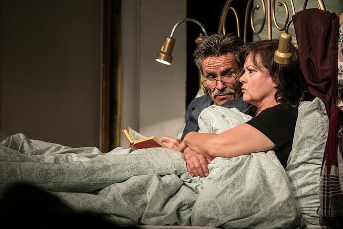 Martin Mejzlík a Ludmila Mecerodová (Z postele do postele)