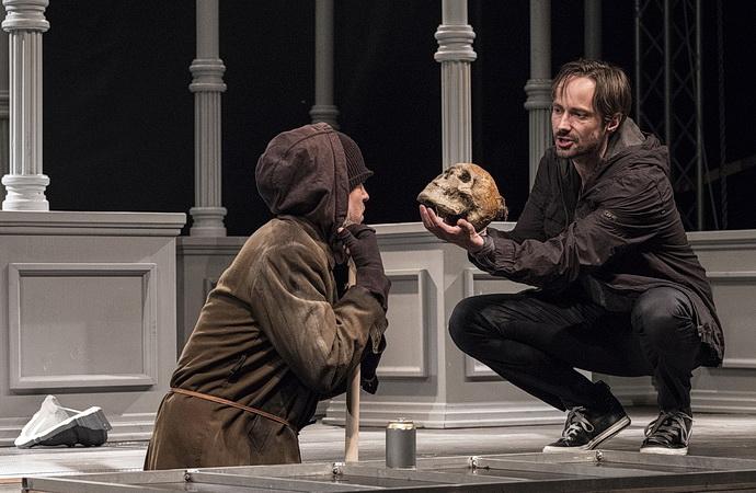 Vladimír Polívka a Jaroslav Plesl (Hamlet)
