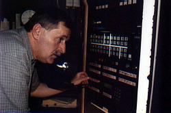 Inspicient Václav Bláha (Foto O. Pernica)