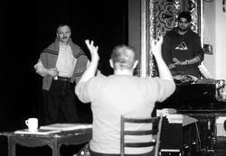Foto ze zkoušky opery Kníže Igor (Foto J. Hradil)