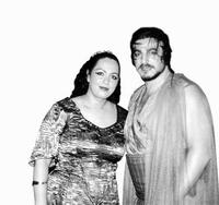 Anda Louise Bogza (Aida) a José Cura (Radames) (Foto autorka)