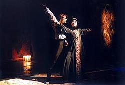 Ivan Hrozný, choreografie Libor Vaculík (Foto z webu divadla)