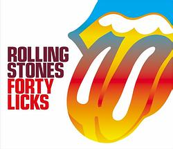 Obal 2CD Forty Licks (Foto z webu)