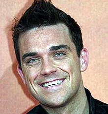 Spokojený Robbie Williams (Foto z webu)