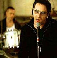 Zpěvák Bono (Foto z webu)