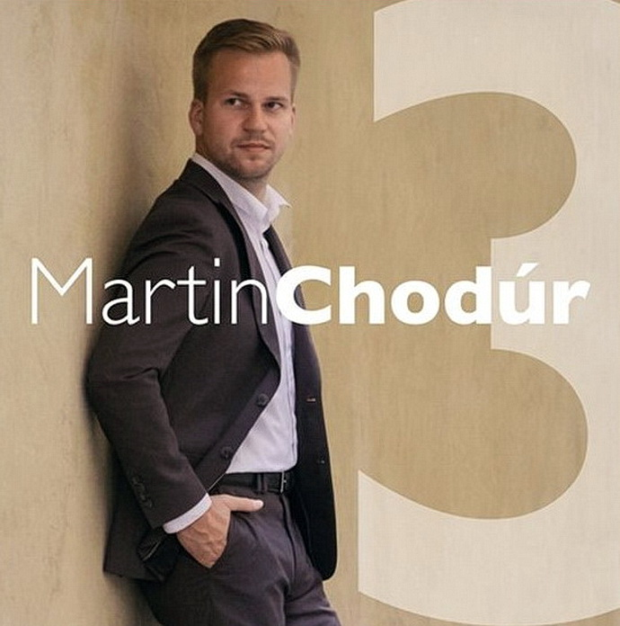 Přebal alba Martin Chodúr 3