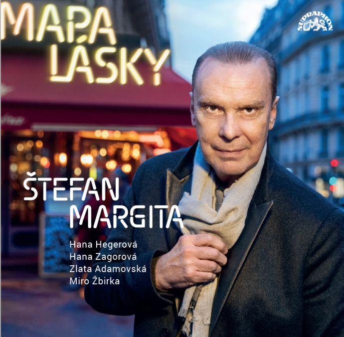 Štefan Margita - obal CD Mapa lásky