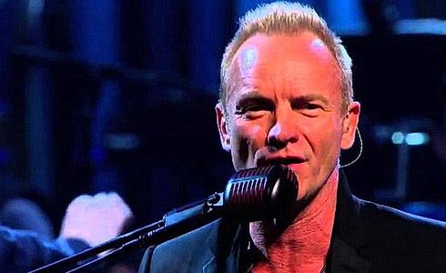 Sting v Berlíně