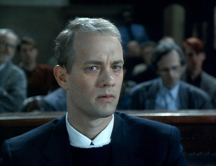 Tom Hanks ve filmu Philadelphia