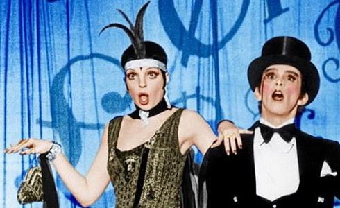 Liza Minnelliová a Joel Grey (Kabaret)