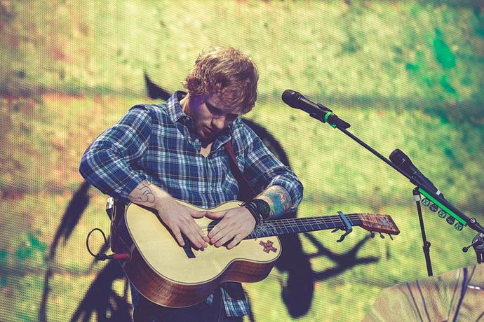 Ed Sheeran – koncert ve Wembley