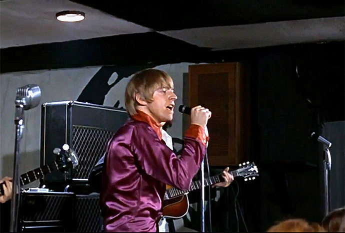 Yardbirds live ve filmu Zvětšenina – Keith Relf 1966