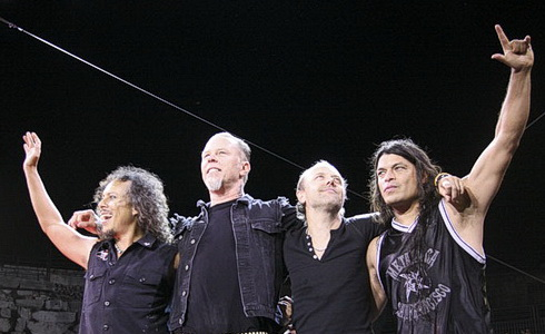 Metallica – koncert v Nimes