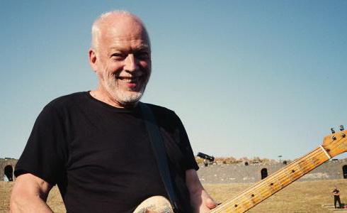 David Gilmour v Pompejích
