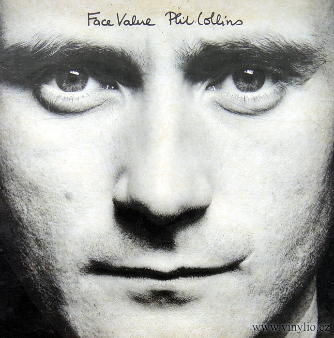 Phil Collins - Face Value (Přebal alba)