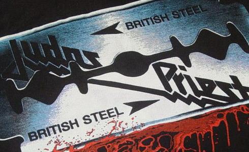 Přebal alba Judas Priest – British Steel