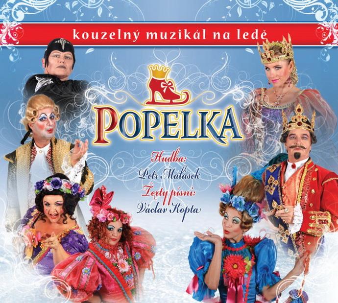Soundtrack z Popelky – kouzelného muzikálu na ledě