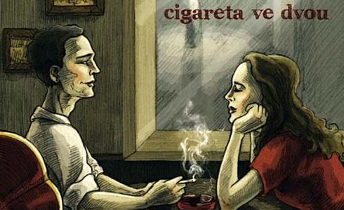 Přebal CD Cigareta ve dvou