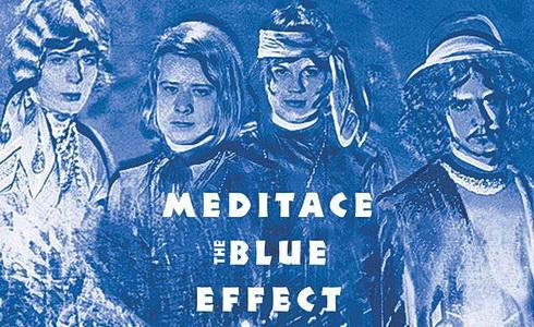 Blue Effect přebal alba Meditace