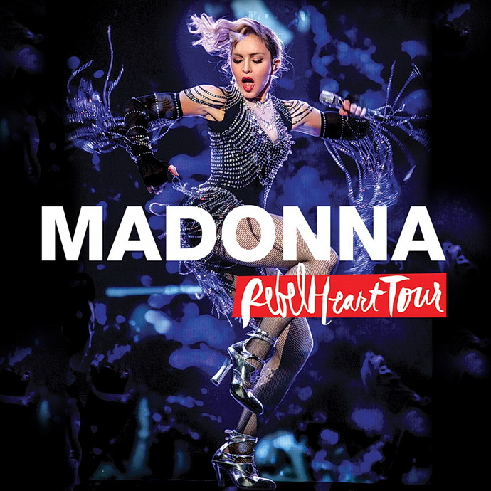 Madonna Rebel Heart Tour přebal CD