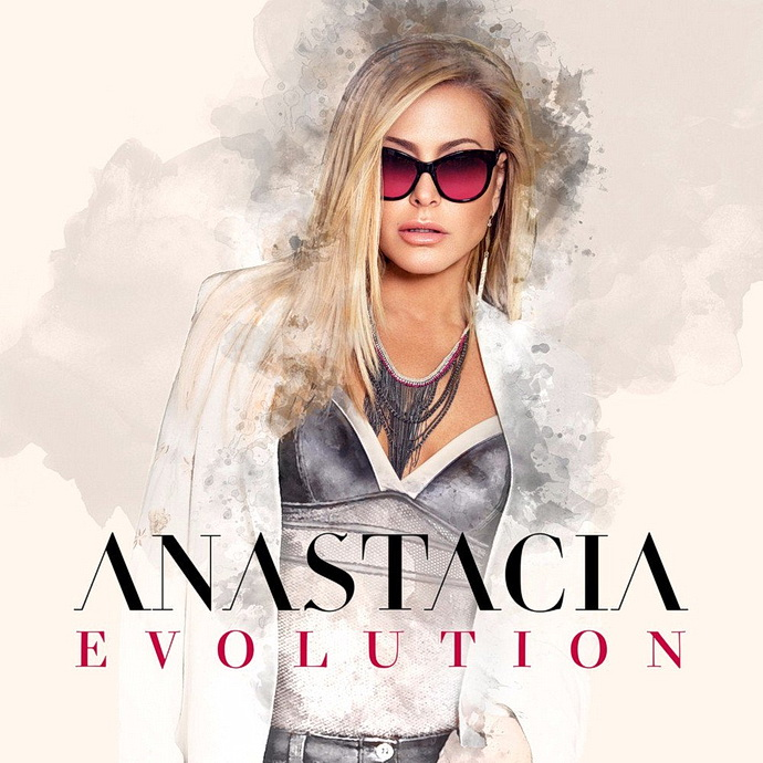 Anastacia přebal alba Evolution