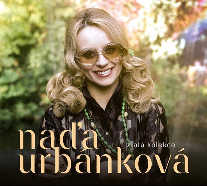 Přebal 3CD Naďa Urbánková - Zlatá kolekce