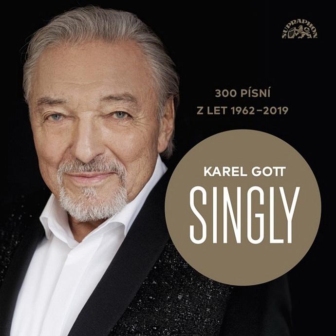 Přebal alba Karel Gott: Singly - 300 písní z let 1962-2019