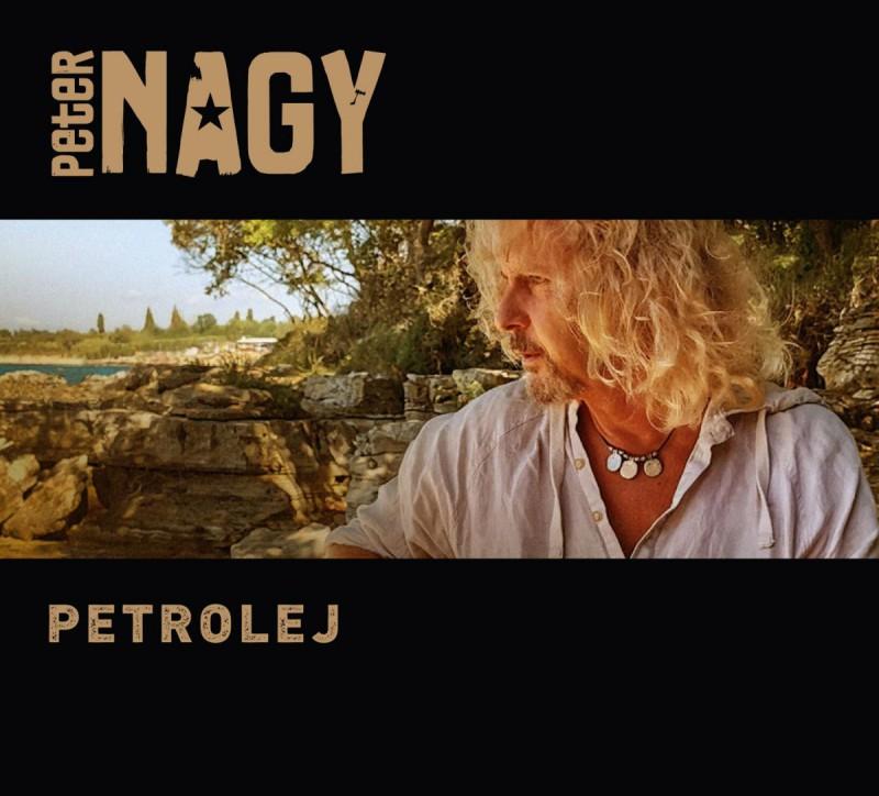 Peter Nagy (HP). Přebal alba Petrolej