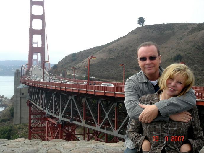 Hana Zagorová a Štefan Margita poprvé v San Franciscu (2007)