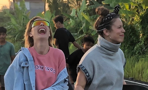 Barbora Poláková natáčí na Bali nový klip