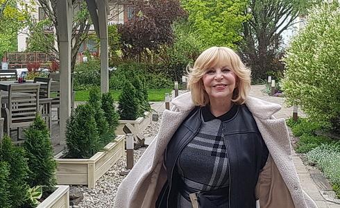 Hanka Zagorová na procházce po Košicích