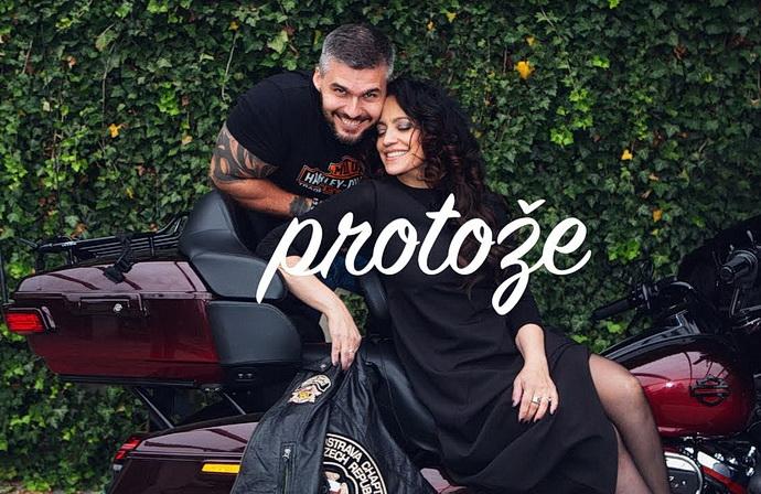 Radek Filipi a Lucie Bílá (Foto: Lukáš Fronek)